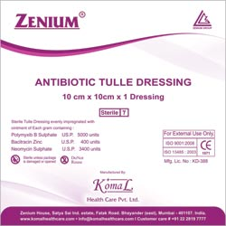 Antibiotic Tulle Dressing